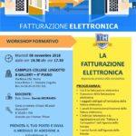 LOCANDINA WORKSHOP FATTURAZIONE ELETTRONICA