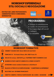 Volantino Workshop