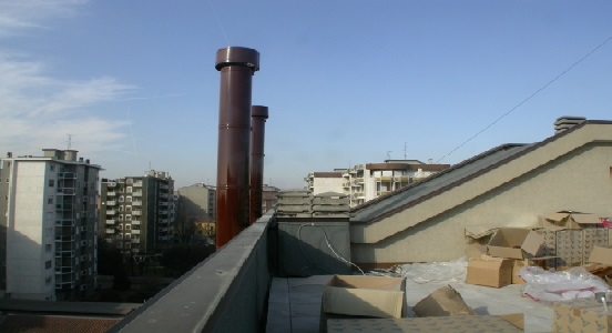 Infiltrazioni gas traccianti termografia canne fumarie for Linee d acqua pex vs rame